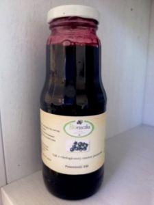 Ekologiczny sok z czarnej porzeczki