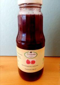 Ekologiczny sok z malin