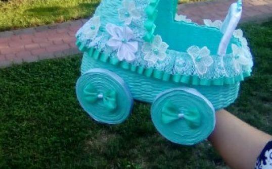 Wózeczki - prezent z okazji narodzin dziecka/ Chrztu Św.
