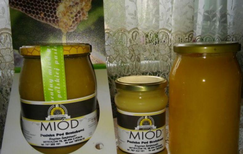 Miód nektarowy wielokwiatowy oraz spadziowo iglasty