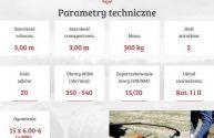 Przętrząsaczo zgrabiarka Z 275 MESKO-ROL karuzelowa 3 m