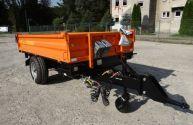 Przyczepa rolnicza jednoosiowa komunalna T 655 PRONAR 2t