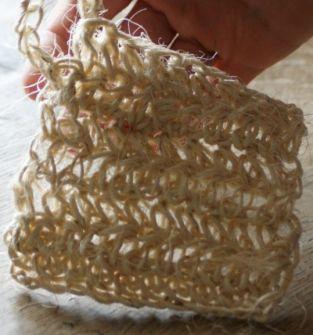 Myjki do mycia naczyń ze sznurka sizalowego