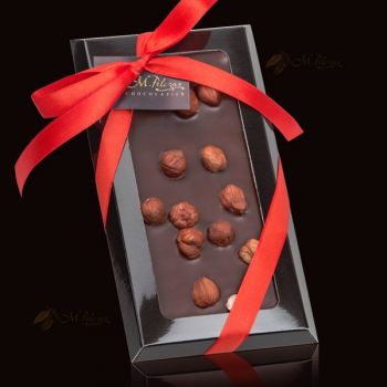 Czekolada deserowa z orzechami laskowym - bez cukru