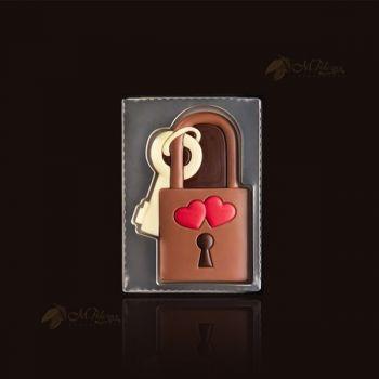Kłódka z kluczami