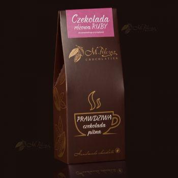 Prawdziwa czekolada pitna różowa - RUBY