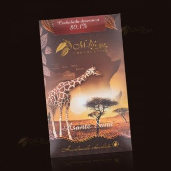 Czekolada z Żyrafą - deserowa