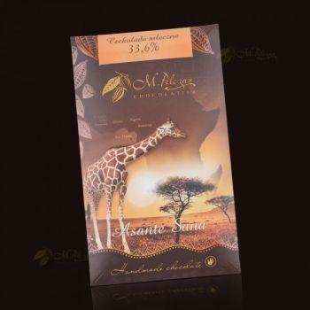 Czekolada z Żyrafą - mleczna 33,6%
