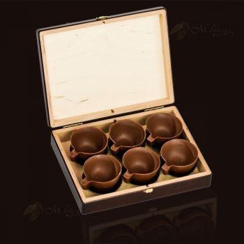 Filiżanki z czekolady