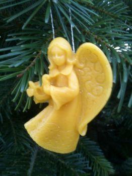 aniołki zawieszki na choinkę