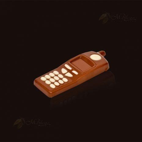 Telefon z czekolady