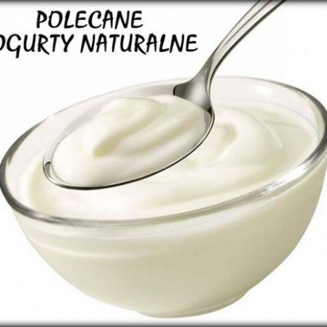 Jogurty naturalne