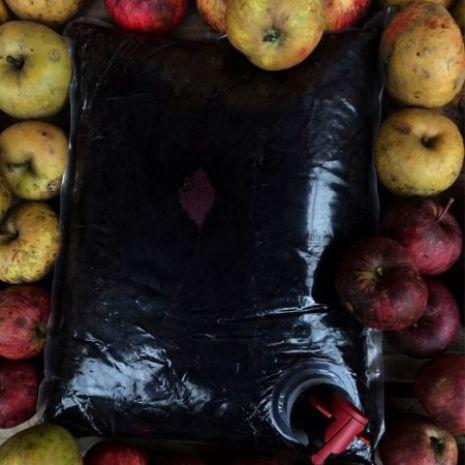 Sok aroniowo - jabłkowy / bag 3l / BEZ DODATKU CUKRU