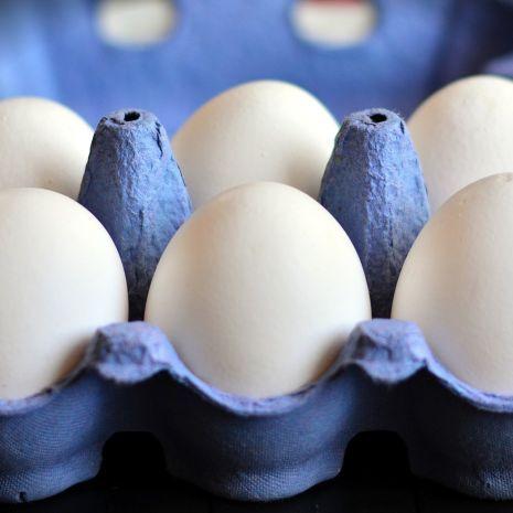 Świeże jajka kurze