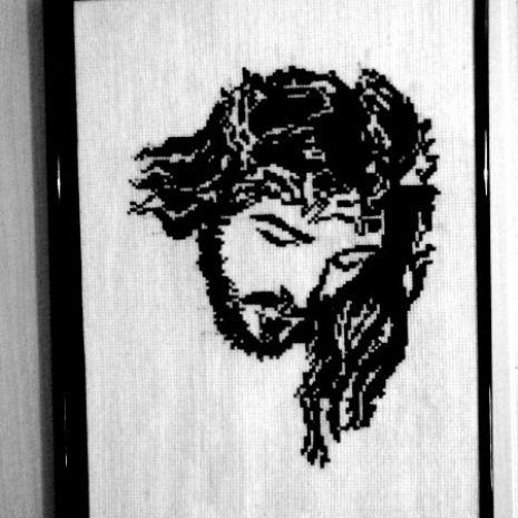 Obrazy haftowane - tematyka religijna
