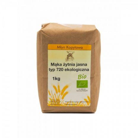 Mąka żytnia typ 720 EKOLOGICZNA