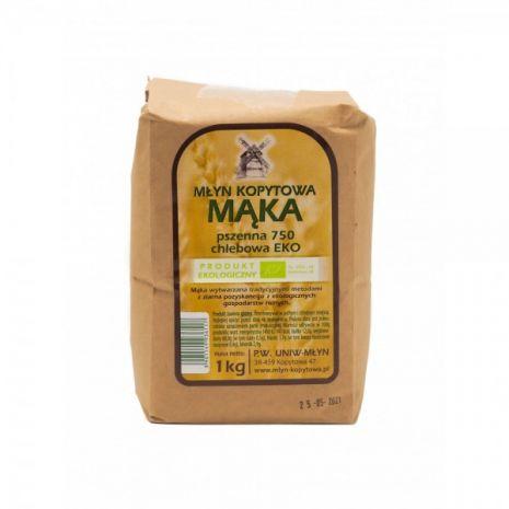 Mąka pszenna typ 750 chlebowa EKOLOGICZNA