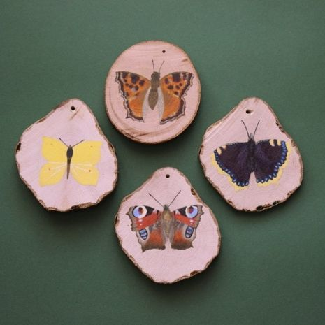 Dekoracja - motyle