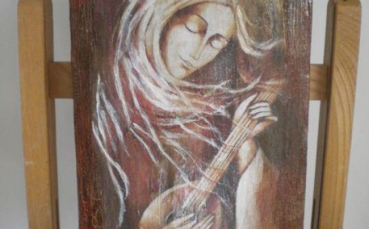 Anioł z mandoliną