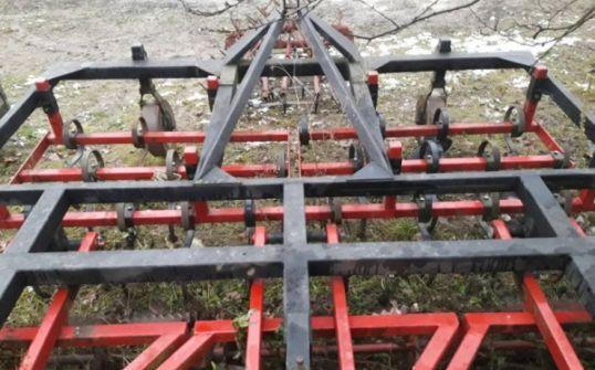Agregat uprawowy z podwójnymi wałami, uprawowo-siewny 3m