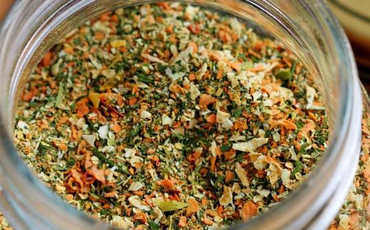 Mieszanka suszonych warzyw