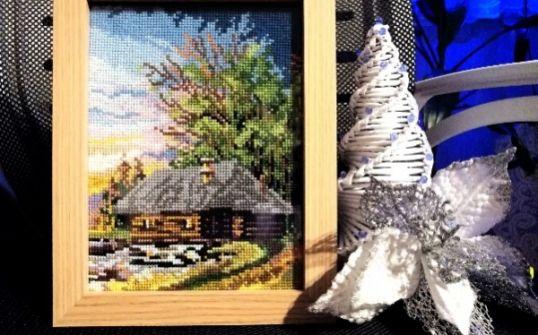 Obrazy ręcznie haftowane