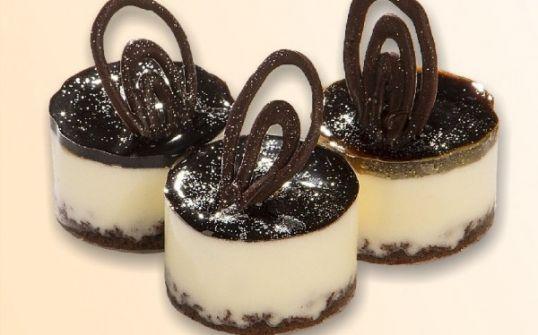 Mini musy śmietankowo - czekoladowe