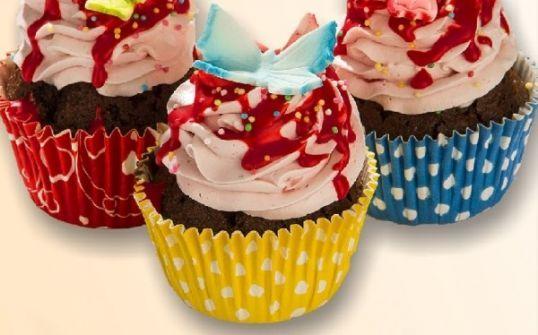 Babeczki kolorowe Muffinki