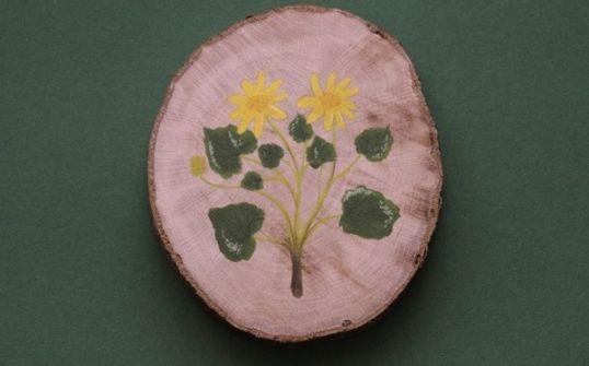 Podstawka/dekoracja - ziarnopłon wiosenny