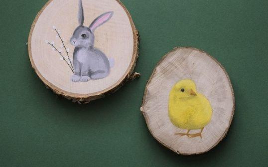 Podstawka/dekoracja - kurczaczek