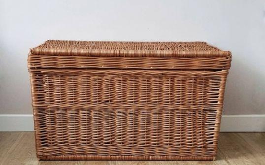Kufer wiklinowy duży