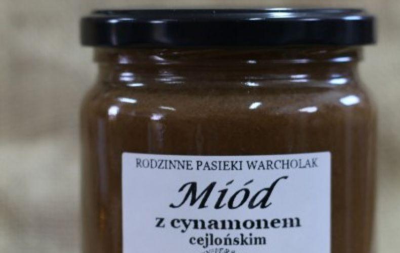 Miód z Cynamonem Cejlońskim