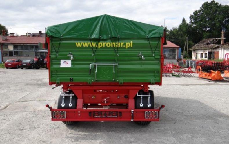 Przyczepa rolnicza komunalna T672/1 PRONAR 10t