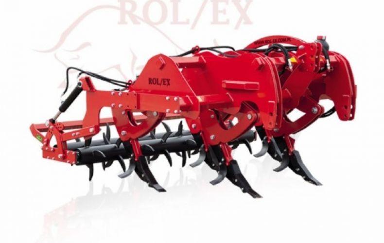 Pług dłutowy ROL-EX zabezpieczenie kołkowe hydrauliczne